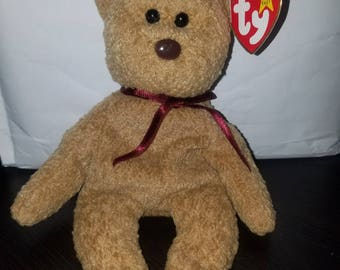 This Is A Very Rare (Multiple Error) Curly TY Beanie Baby In Great Condition