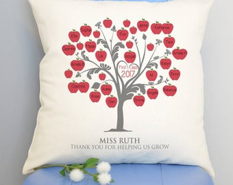 Personalised Class Teacher's Cushion