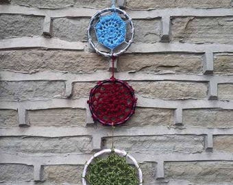 Colourful Crochet Wall Hanging