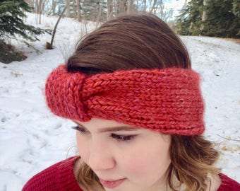 Cozy Bow Earband