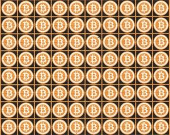 """Blotter type """"Bitcoin"""" 400 hit's"""