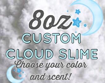 Custom Cloud Slime **8oz