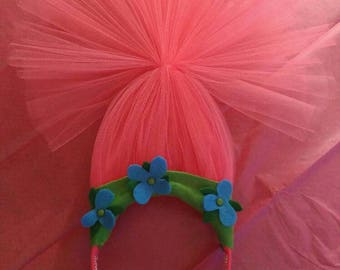 Troll Poppy Headband