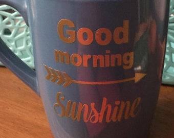 Good Morning Sunshine with arrow