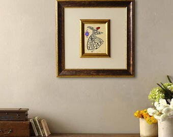 """Rumi Poem Quote """"Appear as you are. Be as you appear"""" FRAMED CALLIGRAPHY, Whirling Dervish, Mevlana Sufi Prayer, Islamic Art, Square Artwork"""