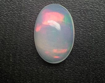 3.25 Ct Ethiopian Natural Opal, Oval Shape, 13x9x6  MM, Welo Opal, Loose Gemstone, Opal Flashy Fire, Gemstone. 1434