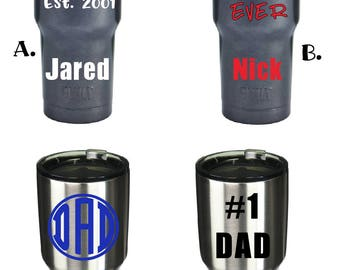 Fathers Day Tumblers - Birthday Gifts for Dad - Fast Processing Time - Built NY and Ozark Tumblers