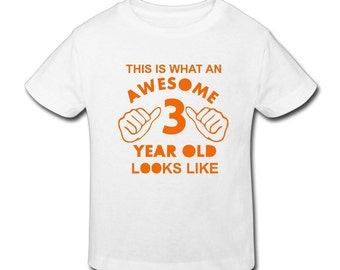 Awesome Birthday t shirt- This is an awesome birthday t-shirt - Fast Shipping!