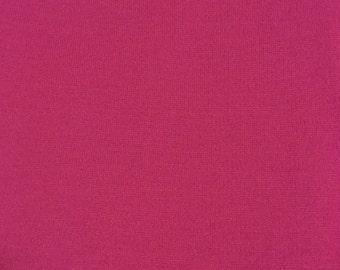 Vintage Suiting Fabric in Dark Magenta; 1970s Suiting Fabric