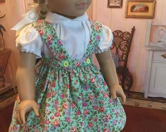 Blouse and Jumper circa 1950 for 18 inch doll