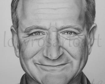 Robin Williams-Graphite Drawing