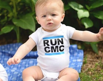 RUN CMC Carolina Panthers Onesie, NC Baby, Newborn Outfit, Coming Home Outfit, Baby Shower Gift