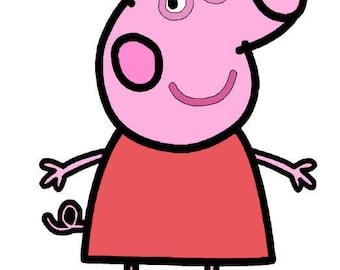Peppa Pig SVG file