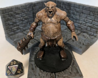 Ogre Tabletop RPG Miniature