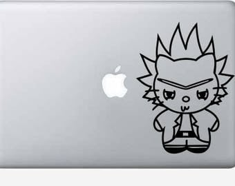 Hello kitty rick decal
