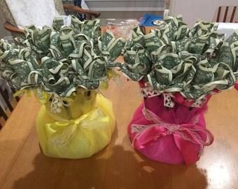 Money bouquets
