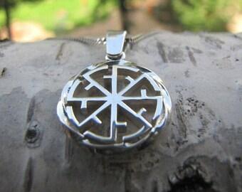 Svetoch' - Svitovit Pendant. Slavic jewelry. Slavic amulet. Slavic pendant. Ethnic charm. Slavic talisman