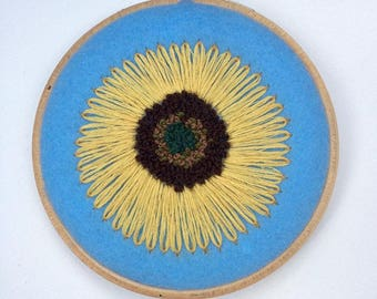 Embroidery Sunflower