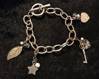 Gold Friendship Charm Bracelet!