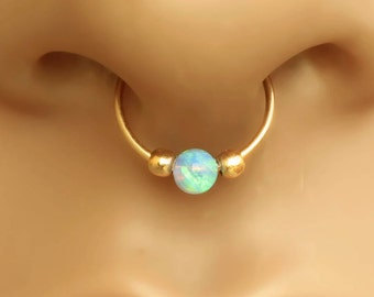 Nose Ring,Tiny Beads Septum Ring,gold nose hoop,22g nose ring,nose ring,nose piercing,nose hoop,septum ring,tiny nose ring,nose hoop