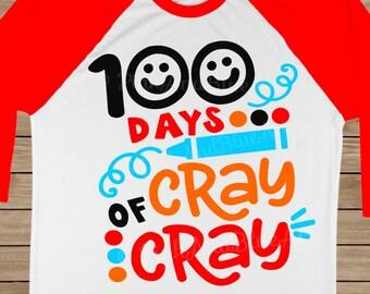 SVG files - Instant download - 100 days svg - 100 days of school svg - Teacher svg - 100 days shirt - School svg - SVG, dxf, eps, png, pdf