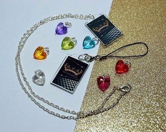 Mystic Messenger * RFA VIP Card * Necklace or Phone Charm