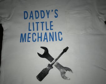 Daddy's Little Mechanic Shirt