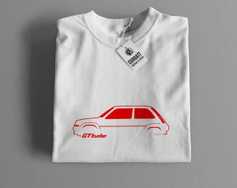 T-shirt Renault 5 GT Turbo | Gent, Lady and Kids | all the sizes | worldwide shipments | Car Auto Voiture