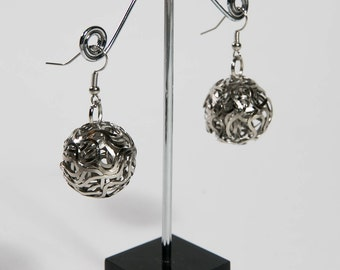 Stainless Silver Drop Earring(DF/ER/00171)
