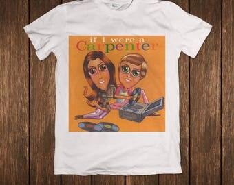 The Carpenters If I Were a Carpenter Tribute Music Album (Various artist - The Cranberries, Sonic Youth,Shonen Knife, etc) T-shirt