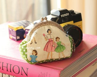 128 Andrea Coin Purse PDF Pattern