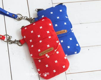 1150 Suzy Smartphone Pouch PDF Pattern