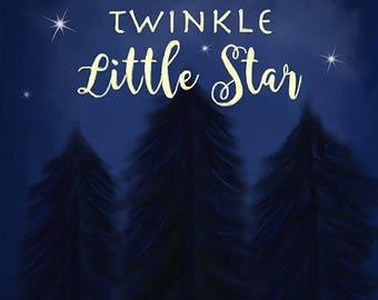 Twinkle Twinkle Little Star - 8x10 Art Print