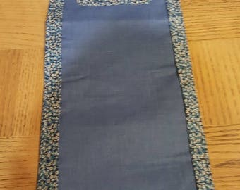 Kitty Table Runner or Wall or Door Hanging. Embroidery and Quilting and Applique