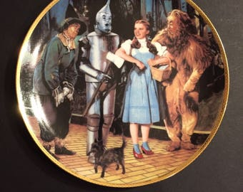 We're Off to See the Wizard limited edition Collector's Plate