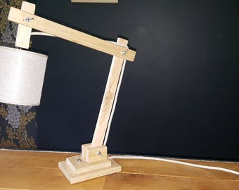 Architect wooden lamp