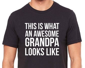 Funny grandpa shirt funny grandpa gift awesome grandpa shirt gift for grandfather gift for grandpa granddady shirt granddaddy gift