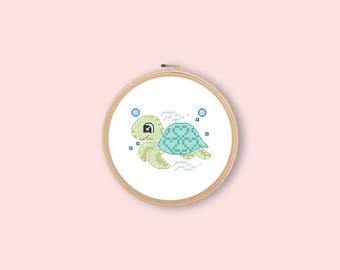embroidery#cross stitch#turtle#counted cross stitch#pdf instant download#x-stitch#baby#kid's embroidery#baby turtle#cross stitch design#