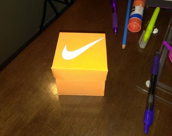 Nike pop up invitation box