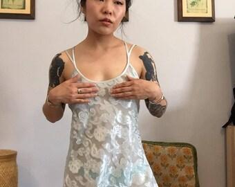Morgan Taylor Intimates lingerie nightie/ vintage/ 1980s