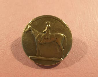 Vintage 1900's French Livery button