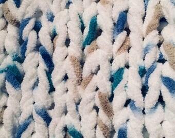 Baby Blanket, Large Baby Blanket, Crib Blanket, Chunkey Blanket, Tummy Time Blanket