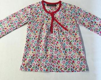 Dress Liberty floral boho T 24 month100% cotton