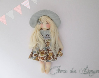 Cold porcelain Ysalide doll