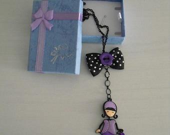 Cute little child necklace