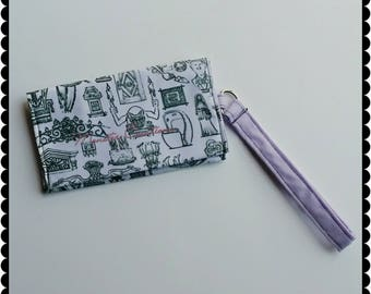 Cell phone wristlet - Haunted Mansion inspired