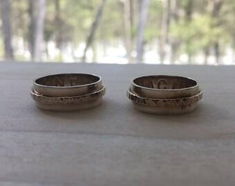 Silver Matching Ring Set