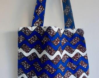 Tote Bag Wax, bag handles, shopping bag, beach bag, handmade in Paris