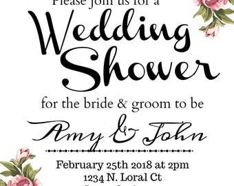 Wedding Shower Floral