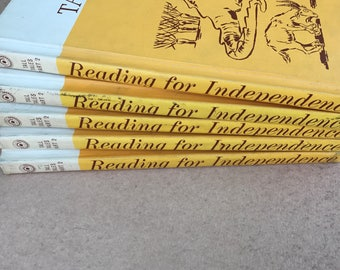 Reading for Independence The New Tall Tales Part 2 book 1964, children's book